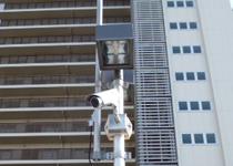大型マンション ネットワークカメラシステム防犯カメラ1