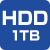 HDD1TB