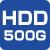 HDD500G